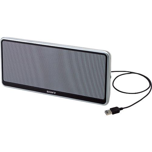 sony vaio portable speaker usb vgp usp1 vgpusp1 b h photo. Black Bedroom Furniture Sets. Home Design Ideas