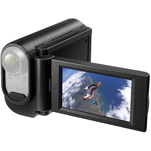 sony grip style lcd unit for action cam akalu1 b h photo video. Black Bedroom Furniture Sets. Home Design Ideas