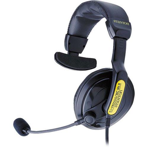 stanton dj p500mcmkii single ear dj headset dj pro 500 mc mk ii