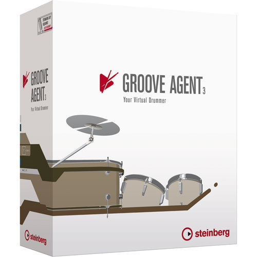 steinberg groove agent 3 virtual drummer and drum 502013841. Black Bedroom Furniture Sets. Home Design Ideas