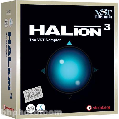 Steinberg HALion 3 1 Virtual Sampler - Educational 502014911 B&H