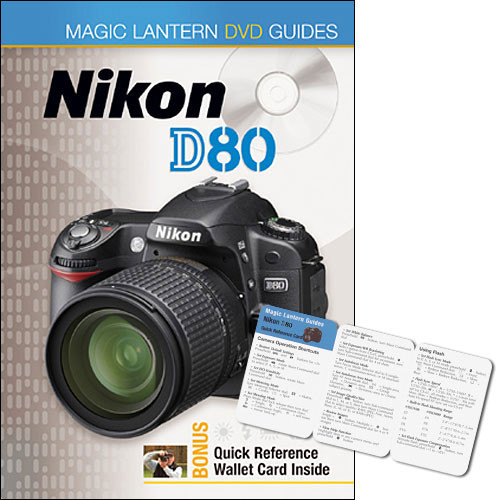 sterling publishing dvd magic lantern dvd guide 9781600591396 rh bhphotovideo com Pictures Taken with Nikon D80 Nikon D70