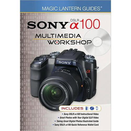 sterling publishing book dvd magic lantern 9781600595691 b h rh bhphotovideo com Sony DSLR A100 Accessories sony dslr a100 guide