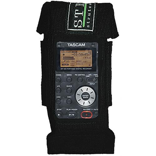 strut str dr100 audio case for tascam dr 100 str dr100 b h photo rh bhphotovideo com