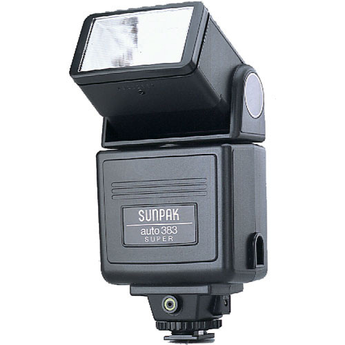 sunpak 383 super auto flash 0383 b h photo video rh bhphotovideo com Number 390 Number 384