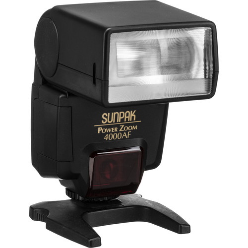 Sunpak PZ 4000AF TTL Flash For Nikon Cameras (Black)