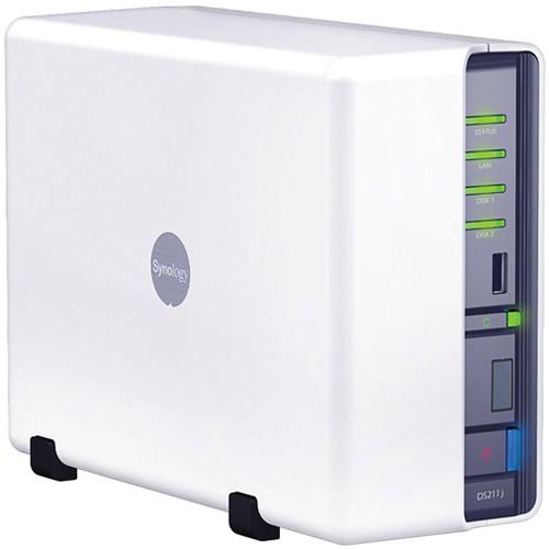 Synology DS211j DiskStation 2-Bay NAS Server DS211J B&H Photo