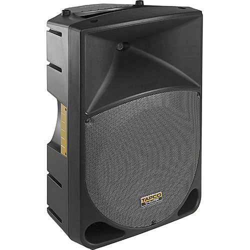 tapco th15a thump 200w 15 quot  2 way active loudspeaker th15a