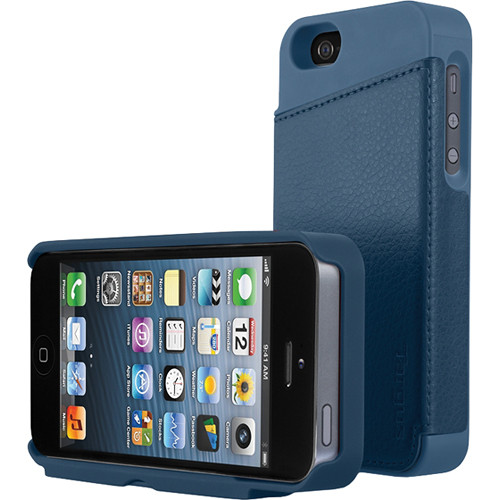 new concept 32865 f638e Targus Wallet Case for iPhone 5 (Blue) THD02202US B&H Photo