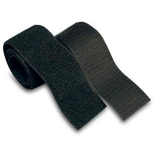 Velcro Vel 90209 Set Of 4 Touch Fastener Strips Black