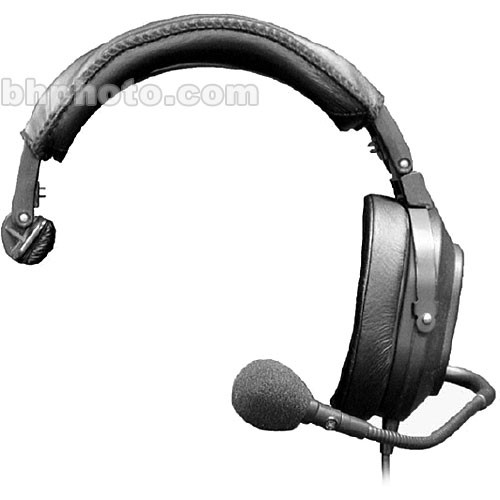 telex hr 1r5 single muff medium weight f 01u 117 471 b h photo  telex hr 1r5 single muff medium weight rts munications headset with 21db of noise reduction
