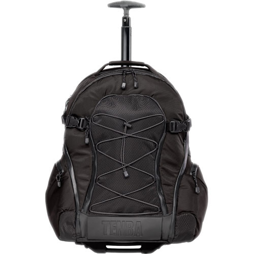 Tenba Shootout Rolling Backpack, Large (Black) 632-333 B&H Photo