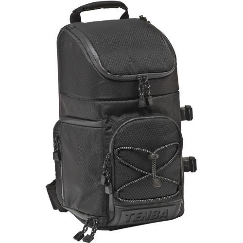 Tenba Shootout Sling Bag, Medium (Black) 632-633 B&H Photo Video