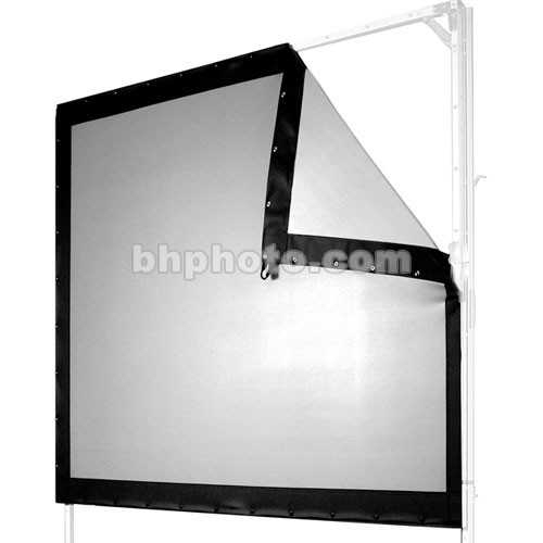rear projection screen Gray rear projection film is great for a narrower viewing angle, low light  environment and you wish to hide your projection equipment behind your screen.
