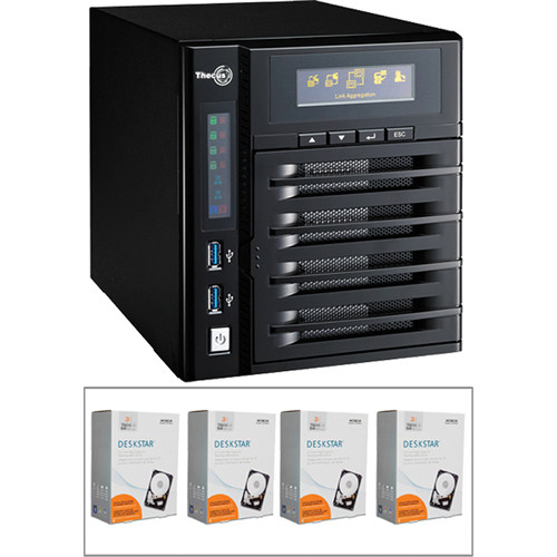 Thecus N4800 NAS Server Driver for Windows