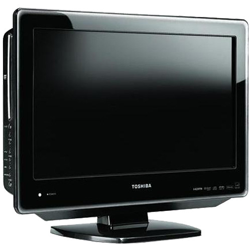 toshiba 19sldt3 19 lcd tv dvd player combo 19sldt3r b h. Black Bedroom Furniture Sets. Home Design Ideas