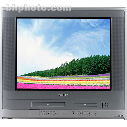 Toshiba Mw 27h62 Demo 27 Tvdvdvcr Combination Bh
