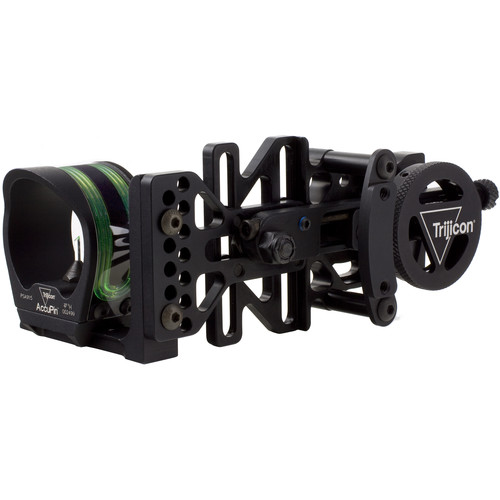 Trijicon Accupin Bow Sight With Accudial Mount Bw51g Bl B Amp H