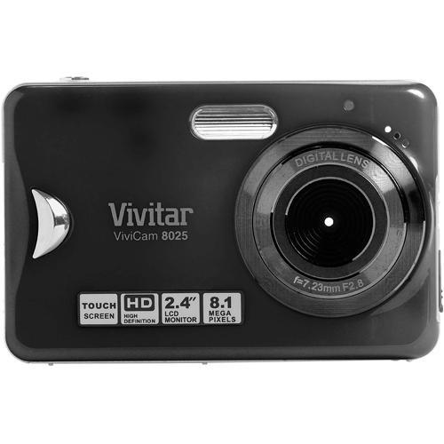 vivitar vivicam 8025 point and shoot digital camera v8025 black rh bhphotovideo com Vivitar Monster High Camcorder User Manual Vivitar ViviCam User Manual