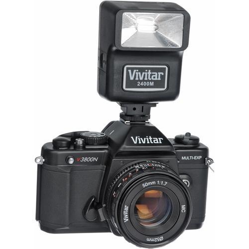 vivitar v3800n 35mm slr manual focus camera complete kit viv300n rh bhphotovideo com Vivitar SLR 35Mm Camera Manual Vivitar V3800N Labeled