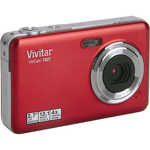 vivitar vivicam t027 digital camera strawberry vt027 straw b h rh bhphotovideo com Operators Manual vivitar t027 instruction manual