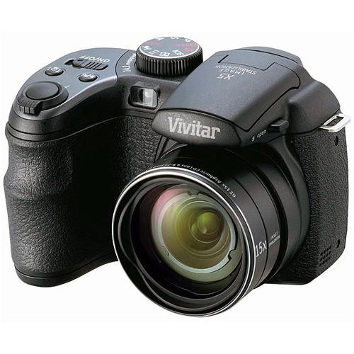 Vivitar ViviCam S1527 Digital Camera (Black) VS1527-BLK B&H
