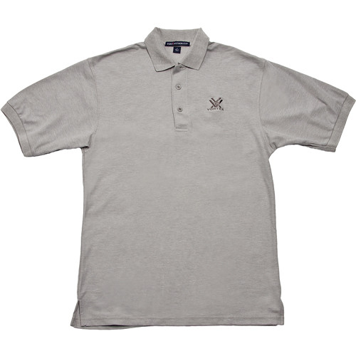 vortex gray polo shirt xxxl k500 grey xxxl b h photo video. Black Bedroom Furniture Sets. Home Design Ideas
