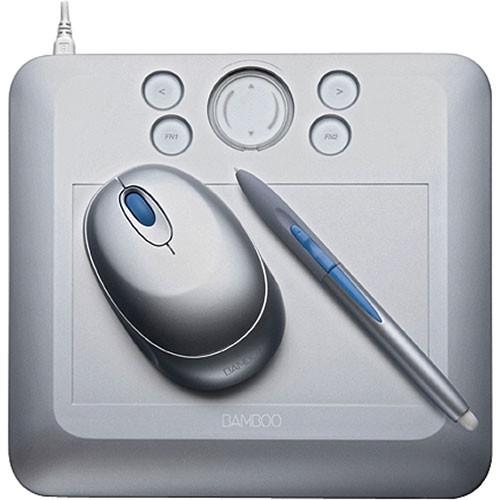 wacom bamboo fun tablet small silver cte450s b h photo video. Black Bedroom Furniture Sets. Home Design Ideas