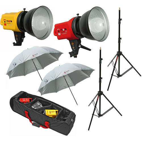 Westcott PB500 Photo Basics Two Flood Light Studio Kit (120VAC)  sc 1 st  Bu0026H : home studio lighting kit - azcodes.com