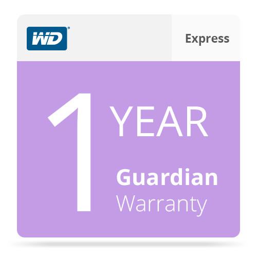 WD 1-Year Guardian Express Warranty For WD WDBBBT0000NNC-NASN