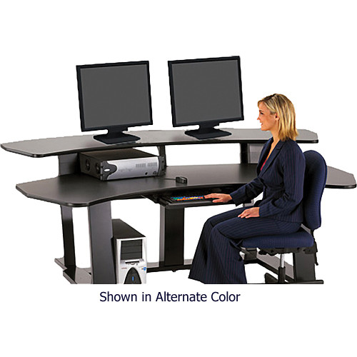 Winsted E4563 94 Wide Digital Desk Black