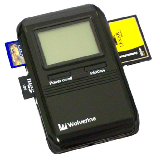 Portable Storage Devices : Wolverine data picpac gb capacity portable b h