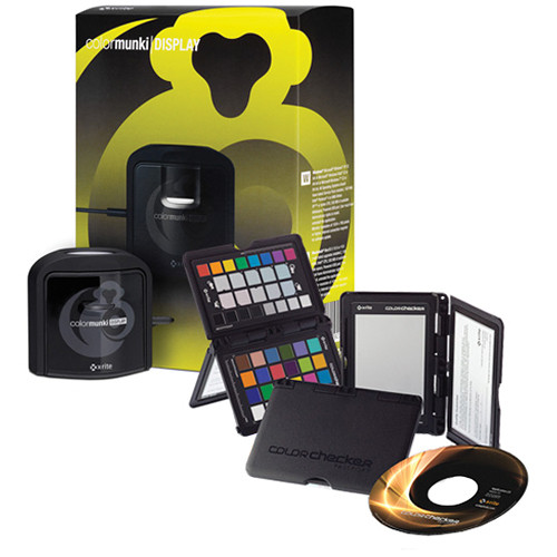 x rite colormunki display and colorchecker passport bundle - X Rite Colormunki Photo Color Management Solution