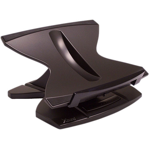xbrand 360 height adjustable laptop stand with 4port usb 20 hub