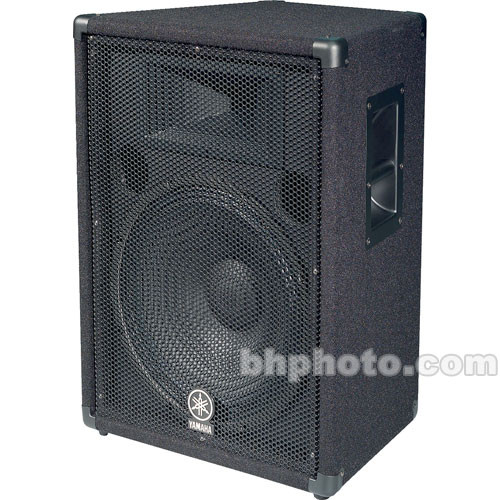 Yamaha br15 15 2 way 400w p a speaker br15 b h photo for Yamaha 15 speakers