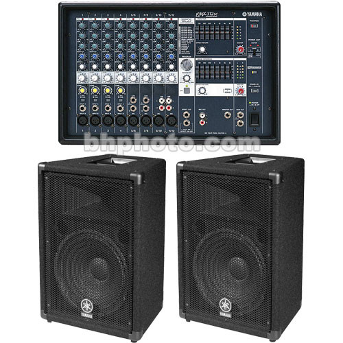 Yamaha emx 312sc mix system emx312sc br15 bundle b h photo for Yamaha emx 312sc