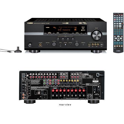 Home Cinema Yamaha 7.1 Yamaha Htr-6080bl 7.1-channel