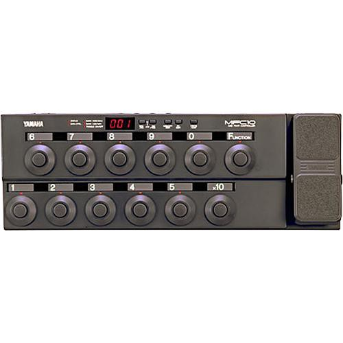 yamaha mfc10 midi foot controller mfc10 b h photo video