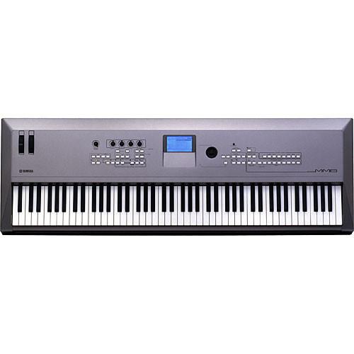 yamaha mm8 88 key synthesizer keyboard mm8 b h photo video rh bhphotovideo com Yamaha Motif Xf6 Yamaha MO6