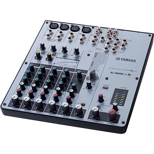 yamaha mixer. yamaha mw8cx - 8-channel usb mixer