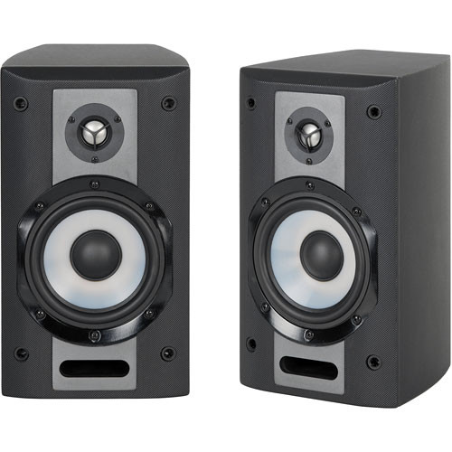 Yamaha ns am380sbl 2 way bookshelf speaker system for Yamaha speakers system