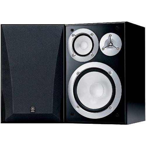 Yamaha NS 6490 3 Way Bookshelf Speakers Pair
