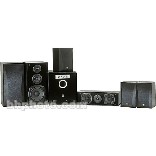 Yamaha ns bp4500 home theater speakers black ns bp4500bl b h for Home theater yamaha