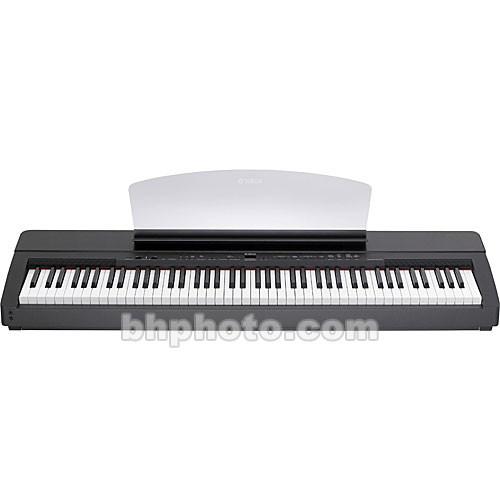 yamaha p140 88 key digital piano dark oak black p140 b h. Black Bedroom Furniture Sets. Home Design Ideas