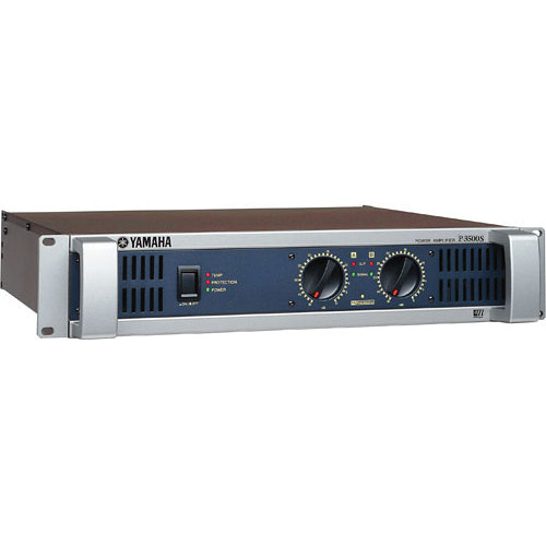 yamaha p3500s two channel power amplifier p3500s b h photo. Black Bedroom Furniture Sets. Home Design Ideas