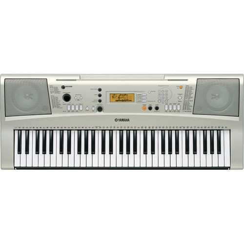 Yamaha psr e313 61 key touch sensitive keyboard psre313 b h for Yamaha learning keyboard