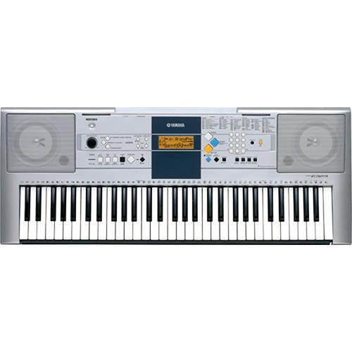 yamaha psr e323 61 key touch sensitive keyboard psre323 b h. Black Bedroom Furniture Sets. Home Design Ideas