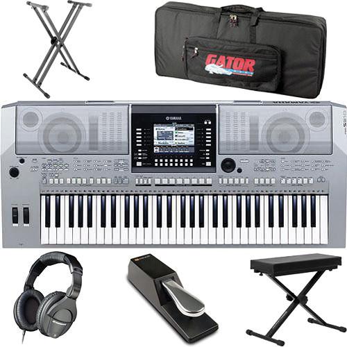 Yamaha psr s910 61 key arranger workstation keyboard value b h for Yamaha a3000 keyboard