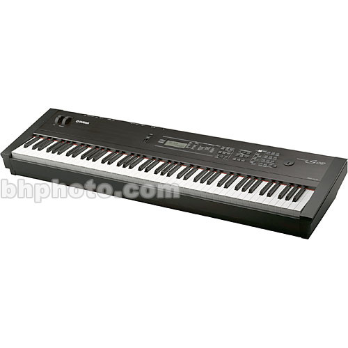 yamaha s08 88 key weighted action keyboard synthesizer s08 b h. Black Bedroom Furniture Sets. Home Design Ideas