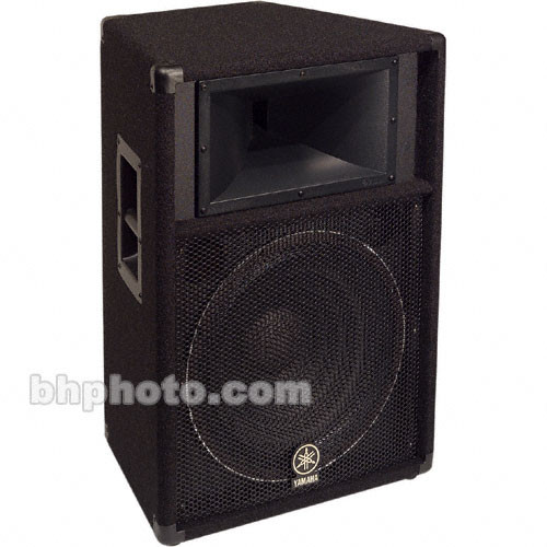 Yamaha s115v club series v two way pa speaker single for Yamaha club subwoofer